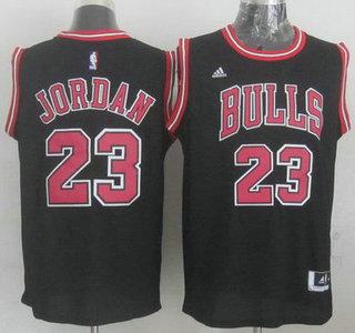 Chicago Bulls #23 Michael Jordan Revolution 30 Swingman 2014 New Black Jersey