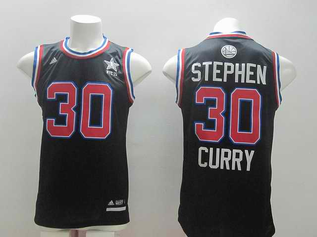 2015 NBA All Stars Jersey For Golden State Warriors 30 Steven Curry