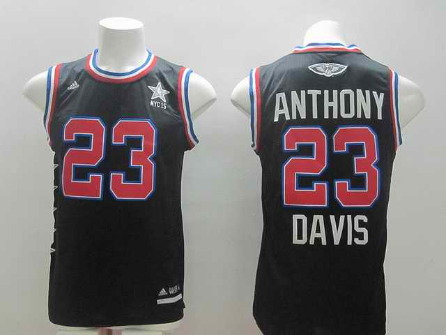 2015 NBA All Stars Jersey For Orleans Pelicans 23 Anthony Davis