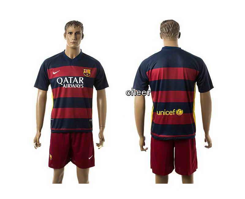 2015 Barcelona Home Court Soccer Jerseys