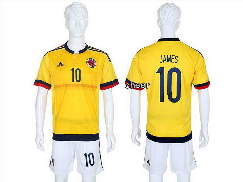 2015 Columbia Home Court No. 10 Soccer Jerseys