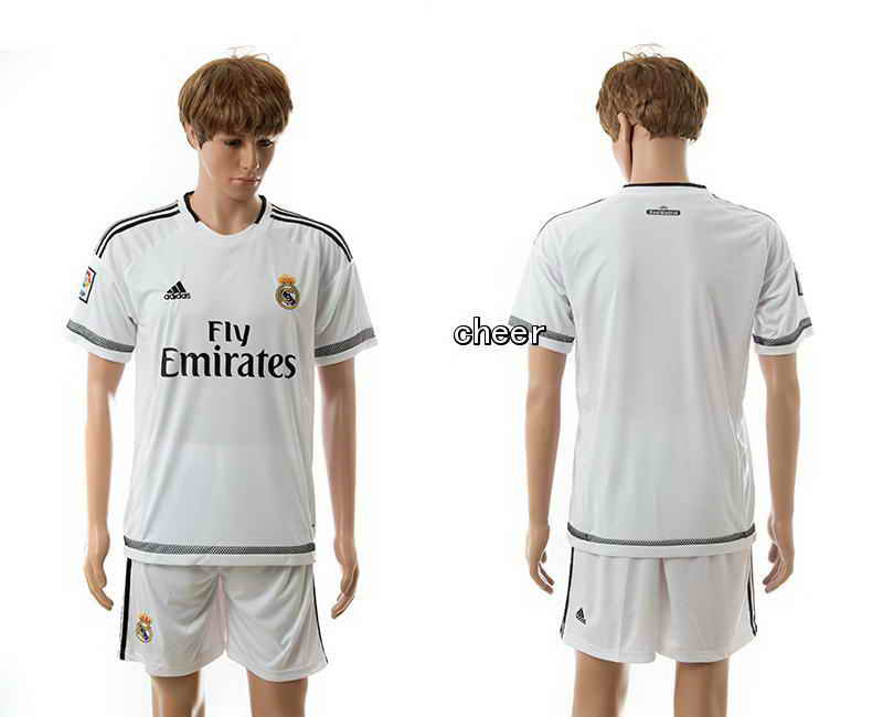 2015 Real Madrid At Home Soccer Jerseys