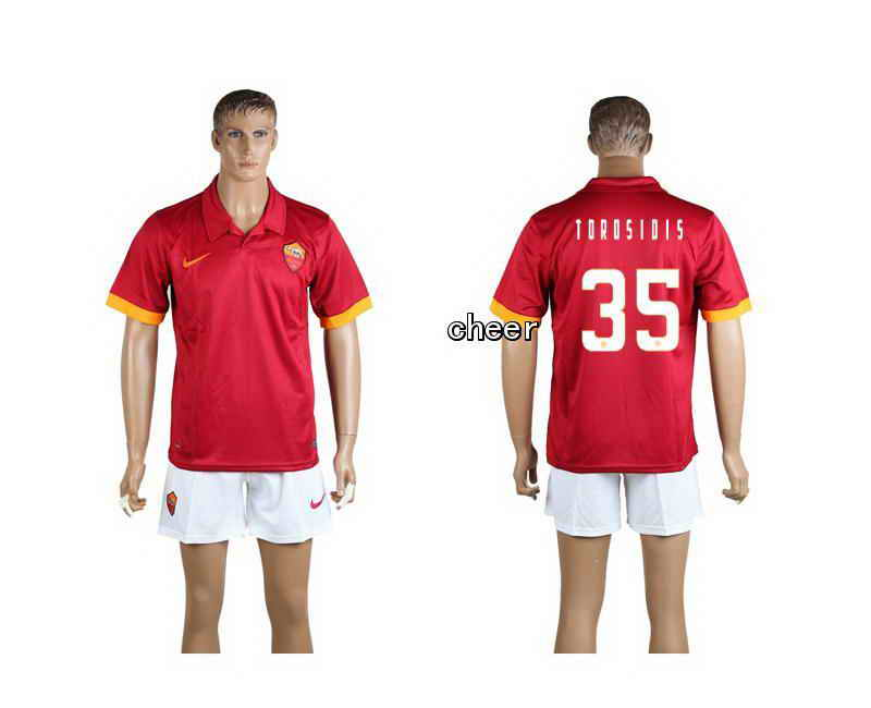 2015 Rome Second Home 35# Soccer Jerseys