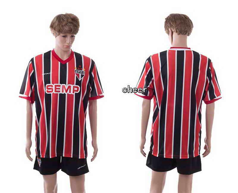 2015 Sao Paulo Home Soccer Jerseys
