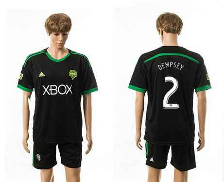 2015-16 Seattle Sounders #2 Dempsey Third Soccer Shirt Kit