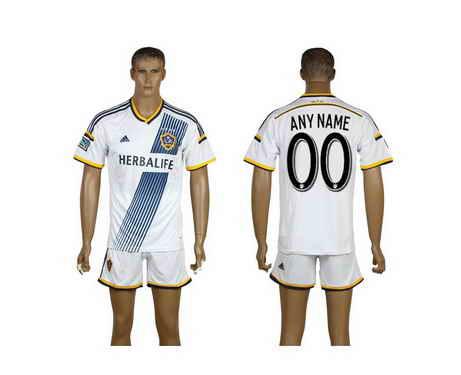 2015-16 Los Angels Galaxy Customized Home Soccer Shirt Kit