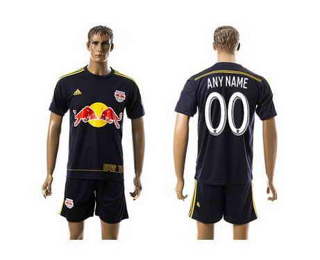 2015-16 New York Red Bulls Customized Away Soccer Shirt Kit