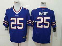NFL Buffalo Bills #25 mccoy blue 2015 New Game Jersey