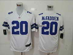 NFL Dallas Cowboys #20 Mcfadden white 2015 New Game Jersey