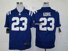 NFL Indianapolis Colts #23 gore blue 2015 New Game Jersey