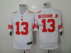 NFL New York Giants #13 beckham jr white 2015 New Game Jersey