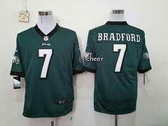 NFL Philadelphia Eagles #7 bradford green 2015 New Game Jersey