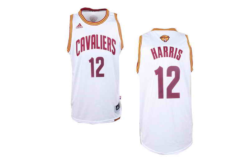 Cavaliers #12 Joe Harris White Alternate The Finals Patch Stitched NBA Jersey