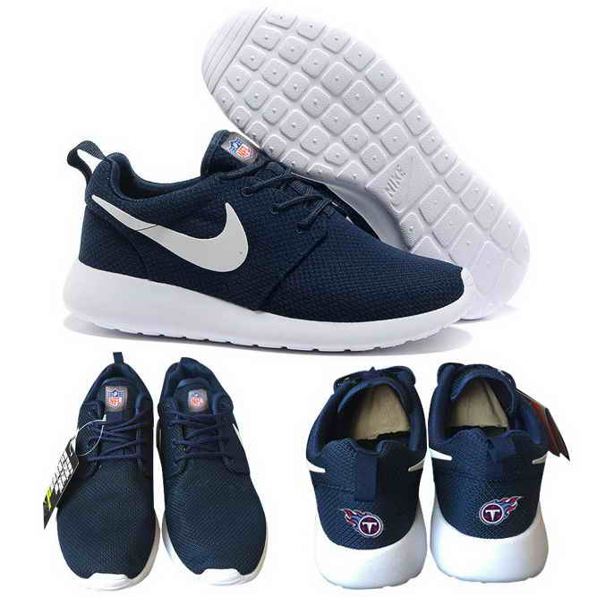 Nike Tennessee Titans London Olympics Navy Blue Shoes