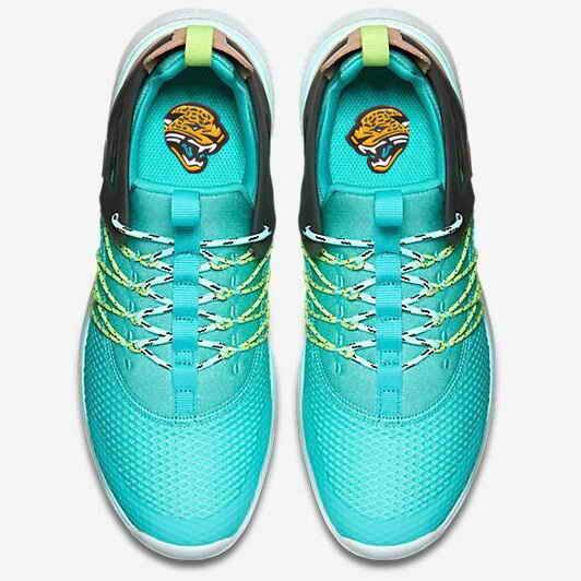 Nike Jacksonville Jaguars London Olympics Green Shoes-1