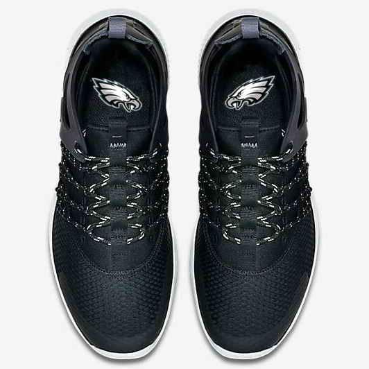 Nike Philadelphia Eagles London Olympics Black Shoes-1