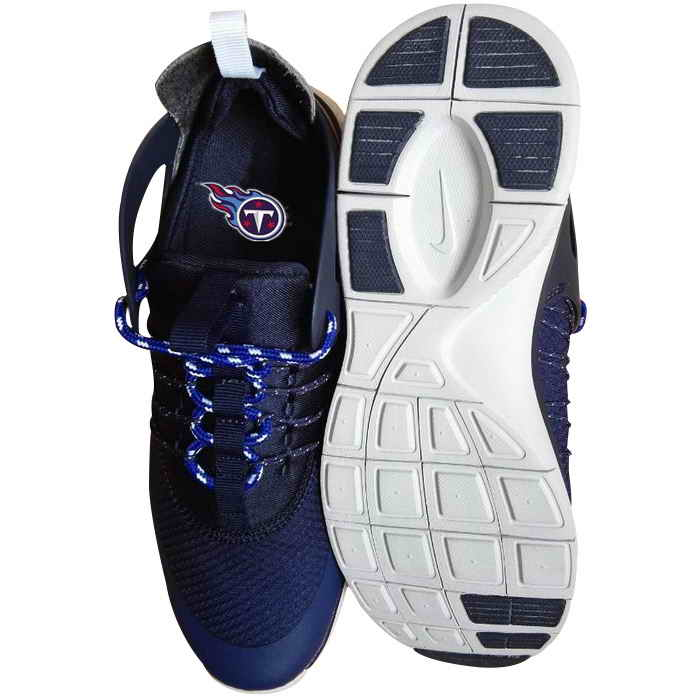 Nike Tennessee Titans London Olympics Dark Blue Shoes