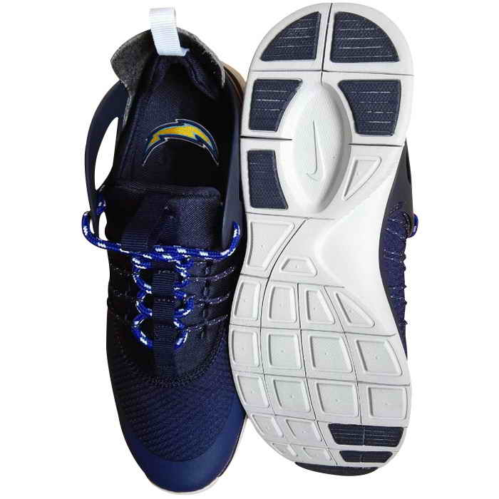 Nike San Diego Chargers London Olympics Dark Blue Shoes