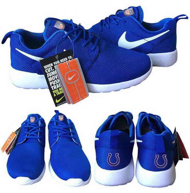 Nike Indianapolis Colts London Olympics Royal Blue Shoes