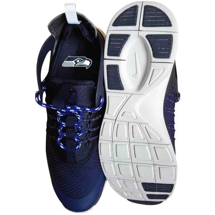 Nike Seattle Seahawks London Olympics Dark Blue Shoes