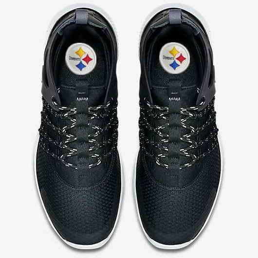 Nike Pittsburgh Steelers London Olympics Black Shoes-1