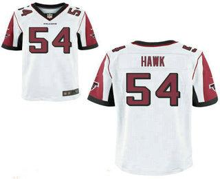 Stitched Atlanta Falcons #54 A. J. Hawk White NFL Nike Elite Jersey