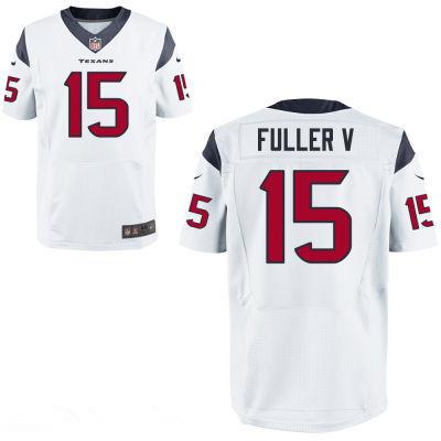 Houston Texans #15 Will Fuller V White Team Color Stitched NFL Elite Jersey