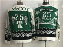 Eagles-25-LeSean-McCoy-Crew-Neck-Men's-Ugly-Sweater