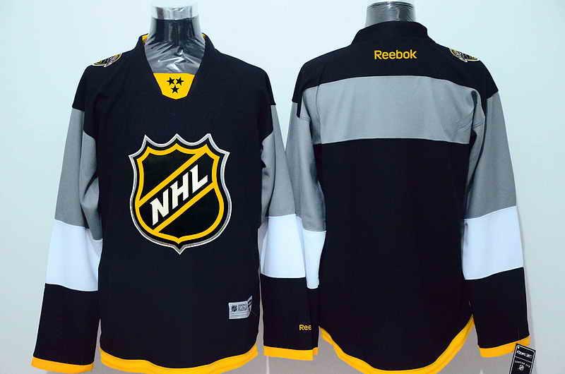 NHL Blank Black 2016 All Star Jersey