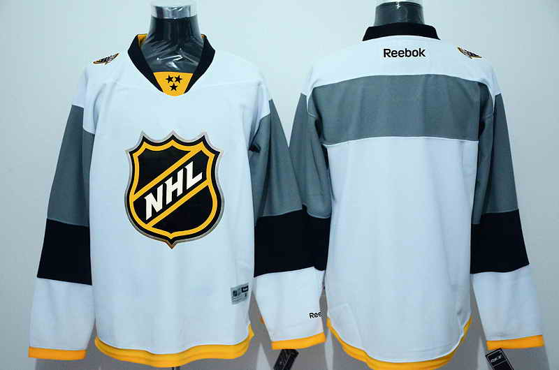 NHL Blank White 2016 All Star Jersey