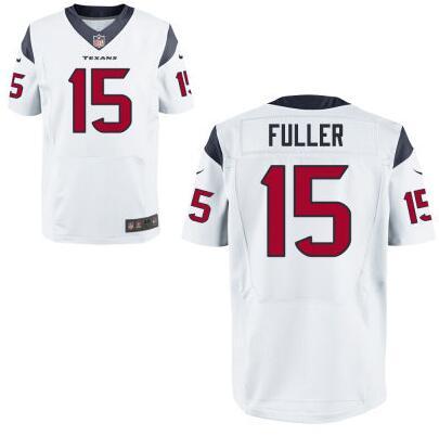 Men's Houston Texans #15 Will Fuller Nike White Elite 2016 Draft Pick Jersey