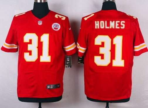 Kansas City Chiefs #31 Priest Holmes Red Retired Player NFL Nike Elite Jersey