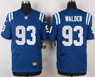 Indianapolis Colts #93 Erik Walden Stitched Royal Blue NFL Nike Elite Jersey