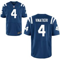 Stitched Nike Indianapolis Colts 4 Adam Vinatieri Blue Elite Jerseys