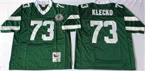 New York Jets #73 Joe Klecko Green Stitched Mitchell and Ness NFL Jersey