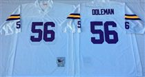 Minnesota Vikings #56 Chris Doleman White Stitched Mitchell and Ness NFL Jersey