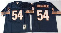 Chicago Bears #54 Brian Urlacher Blue Stitch Mitchell and Ness NFL Jersey