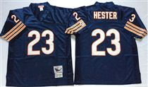 Chicago Bears #23 Devin Hester Blue Stitch Mitchell and Ness NFL Jersey