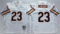Chicago Bears #23 Devin Hester White Stitch Mitchell and Ness NFL Jersey
