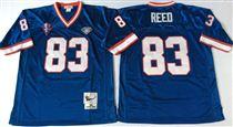 Buffalo Bills #83 Andre Reed Blue Stitched Mitchell and Ness Jersey