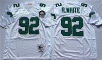 Philadelphia Eagles #92 Reggie White White  99TH Stitched Mitchell and Ness Jersey