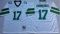 Philadelphia Eagles #17 Harold Carmichael White  99TH Stitched Mitchell and Ness Jersey