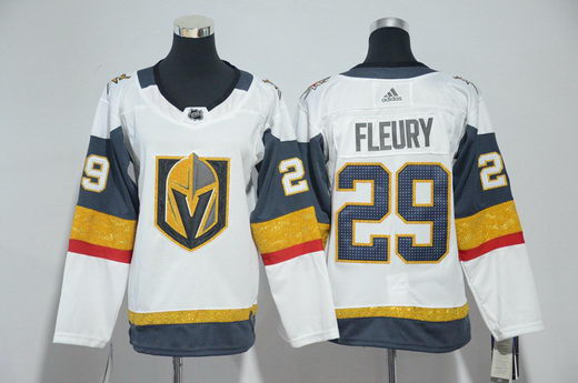 Youth Adidas Vegas Golden Knights 29 Marc-Andre Fleury White Jersey