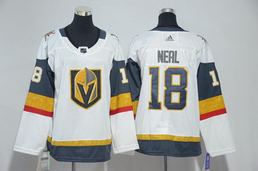 Youth Adidas Vegas Golden Knights 18 James Neal White Jersey