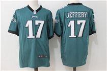 Nike Eagles #17 Alshon Jeffery Green Stitched Game Jersey