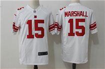 Nike New York Giants #15 Brandon Marshall White Game Stitched Jersey