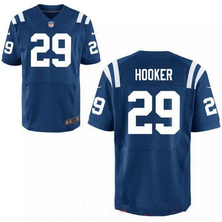 Men's 2017 NFL Draft Indianapolis Colts #29 Malik Hooker Royal Stitched Blue Nike Elite Jersey