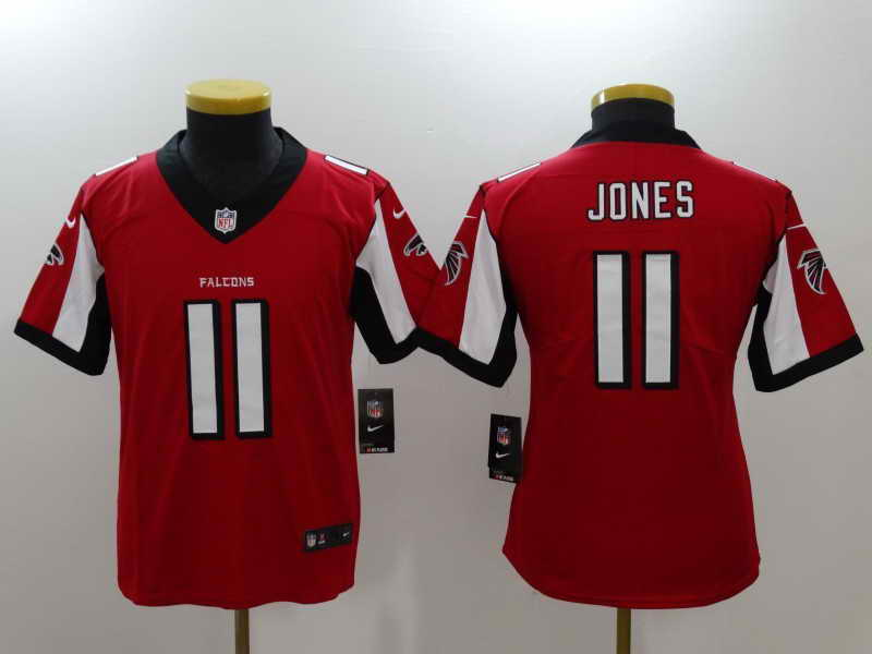 Youth Atlanta Falcons #11 Julio Jones Red Vapor Untouchable Nike Limited Stitched Jersey