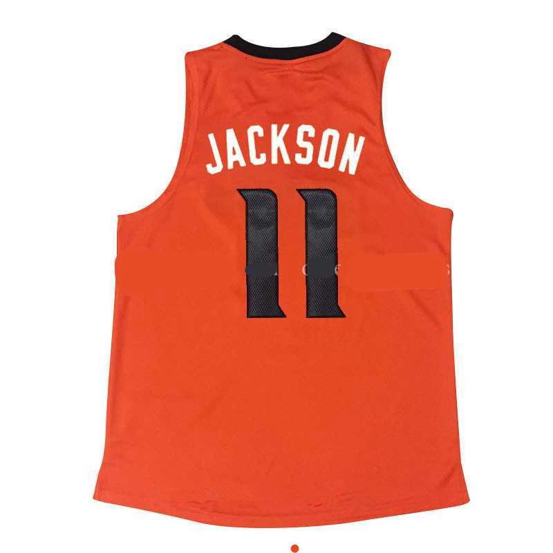 Men's Stitched 2017 Draft Phoenix Suns #11 Josh Jackson Orange NBA adidas Revolution 30 Swingman Jersey