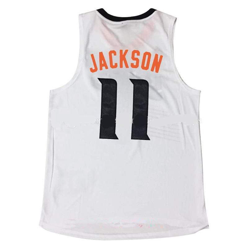 Men's Stitched 2017 Draft Phoenix Suns #11 Josh Jackson White NBA adidas Revolution 30 Swingman Jersey